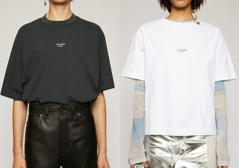 2020 Spring Summer Small Letter Logo Print Short Sleeve Round Neck Solid Loose Cotton T-shirt For Men And Women A3
