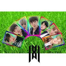 Kpop Monsta X Follow Find You PVC Clear Photo Card Shownu I.M Kihyun New Album  Photocard HD Collective Card 7pcs/set