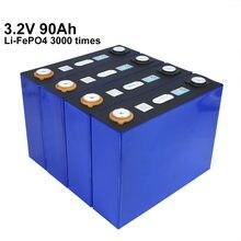 Новинка 2020 8 шт батарея lifepo4 32 в 90 а/ч не 12 В 24 для