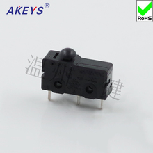 5PCS MS2-2 High Quality Microsoft Mouse Switch Rectangular Micro Switch Mouse Key Three-legged Stepless Micro-motion