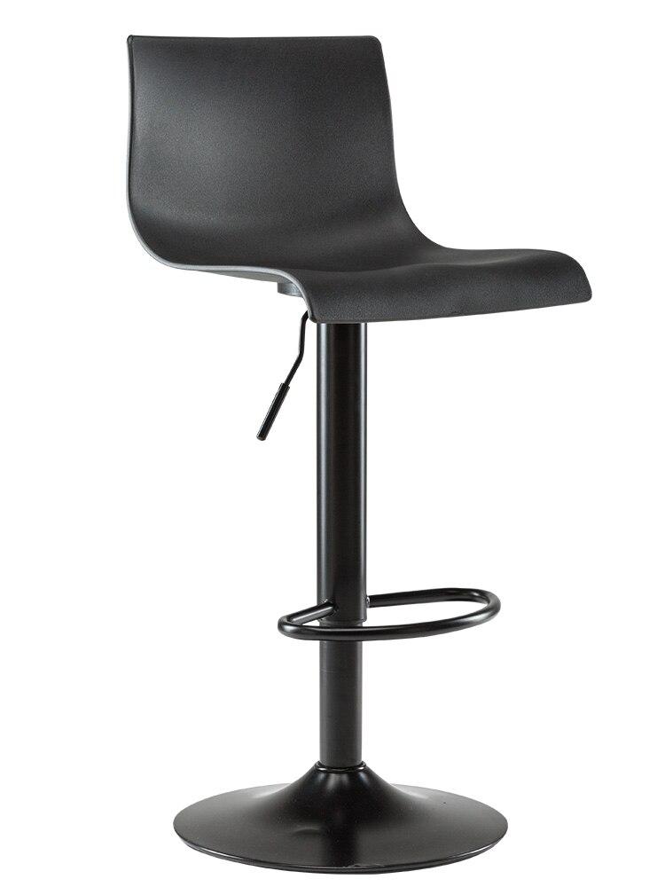 Home Bar Chair Simple High Dining Stool Bar Chair Rotating Lift Bar Stool High Stool Back Bar Chair