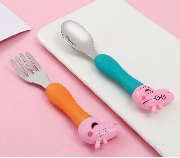 Игрушечная посуда Свинка Пеппа, ложка, вилка, ложка для супа, набор обеденных обедов, Джордж, фигурки героев аниме, игрушки для детей, подарок