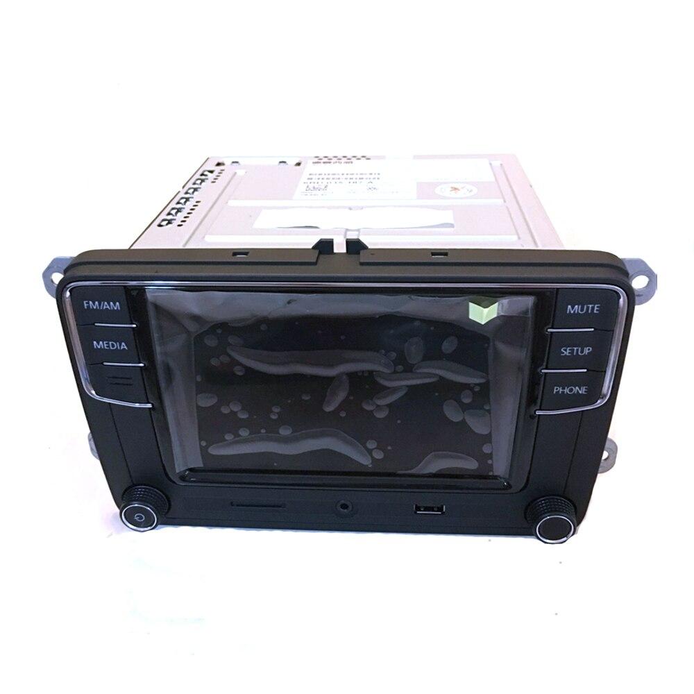 Autoradio 6.5 pouces MIB RCD510 RCN210 RCD330 RCD330G Plus pour Golf MK5 MK6 Jetta CC Tiguan Passat 6RD 035 187 A 6RD035187A