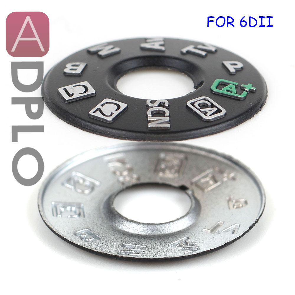 ADPLO Top Cover Button Mode Dial For Canon EOS 6D Mark II 6D2 6DII  Camera Repair Part Unit