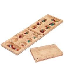 Mancala afrika taş satranç klasik strateji yapboz oyuncaklar parti oyunu katlanır satranç tahtası çocuk eğitici mantıksal düşünme oyuncaklar