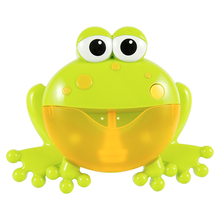 Frog Bubbles Machine Bathroom Toy Boy & Girl Bubble Music Baby Toddler Toys Baby Bath Maker Swimming Water Games Kids Toys Gift