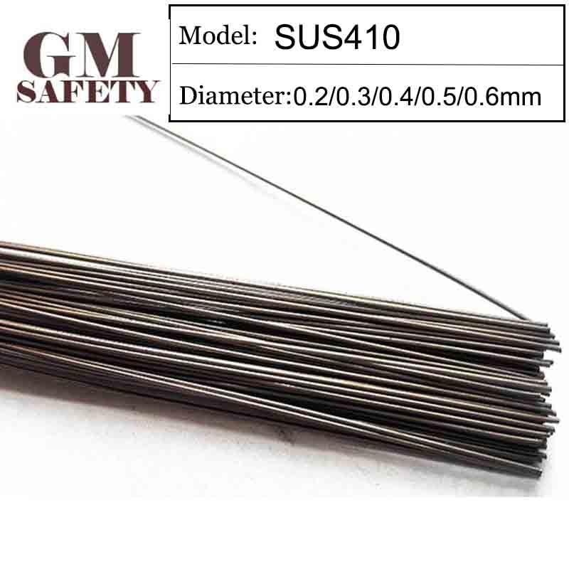 GM Welding Wire Material SUS410 of 0 2 0 3 0 4 0 5 0 6mm Mold Laser Welding Filler 200pcs  1 Tube GMSUS410