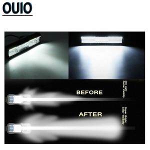 Image 5 - 12V 24V LED Work Licht 4x4 Auto Zubehör Fahr Licht Bars Offroad Scheinwerfer Spot Flut combo Beam Fog Licht Lkw Boot Lampe
