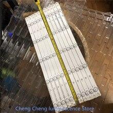 10 Pz/lotto per Changhong 49 Pollici Lcd Tv Striscia di Retroilluminazione Uso LB C490F14 E4 L G1 DL1 49D2000 LB49006 C490F15 E2 L 10LED = 97 Centimetri 3V