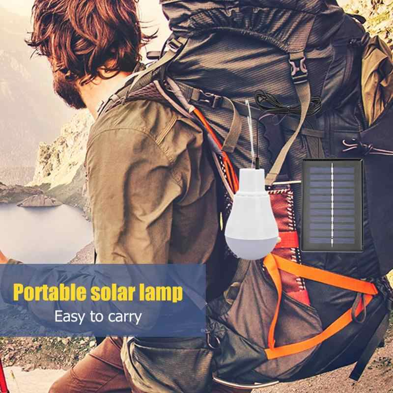5V 15W 300LM Solar Energy Power Outdoor Lamp USB Low Power Consumption Bulb //KT