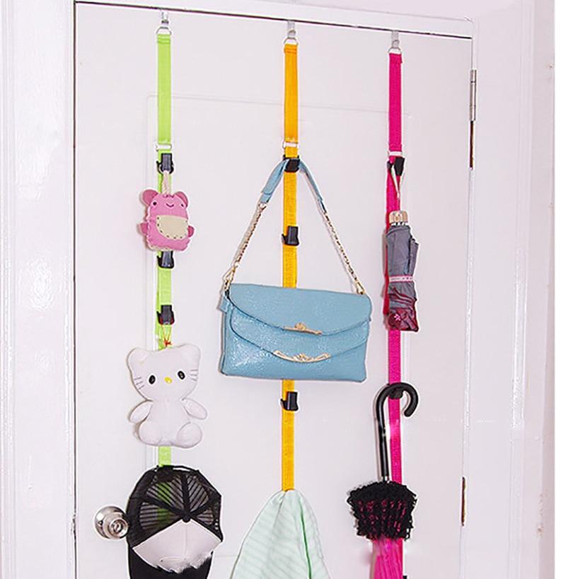 Adjustable Cap And Bag Door Rack