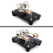 DIY Dual-Coil Brushless Motor Hall Electric Machine Physical Experiment Model Academia Science Toys Hobbies Gift