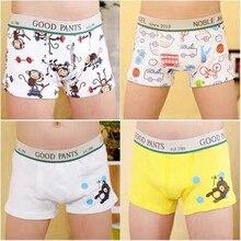 of Children Underwear Boxer/clothing-Accessories Pants/cartoon Boy's Cotton 8-Pc/Lot