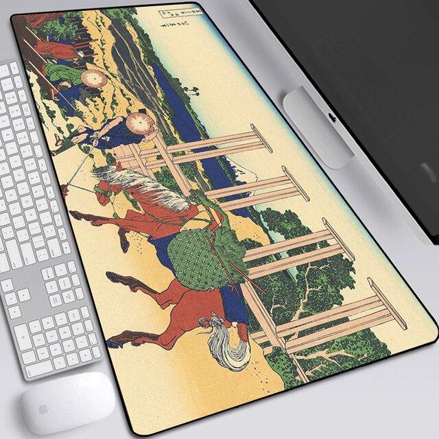 Купить коврик для мыши японский пейзаж большой игровой коврик ноутбука