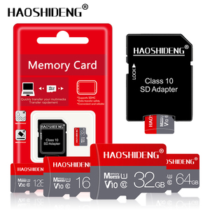 Карта памяти Micro sd U3, 128 ГБ, 64 ГБ, 32 ГБ, 16 ГБ, класс 10, карта флеш-памяти для детей в возрасте от 1 года до 4 лет, карта памяти с бесплатной доставкой...
