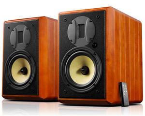 Ribbon Tweeter Speaker Monitors Hivi Swans Hifi Passive Stereo 2 M1A 4th-Order Vented