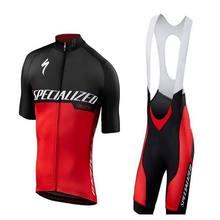 2021 nova camisa de ciclismo conjunto especializado bicicleta manga curta dos homens roupas gel acolchoado bicicleta calças