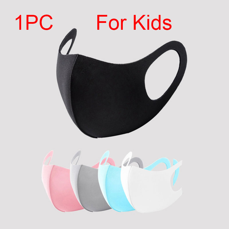 Child Kid Sponge Mouth Mask Washable Dustproof Reusable Anti-Pollen Non-disposable Breathable Protective Face Mask Anti-PM2.5