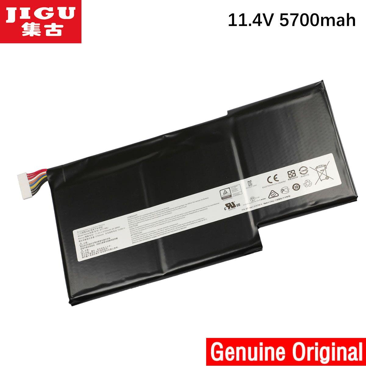 JIGU New 11.4V 64.98Wh 5700mAh BTY-M6J Battery For MSI Stealth GS63VR GS73VR 6RF016CN BTY-U6J Series