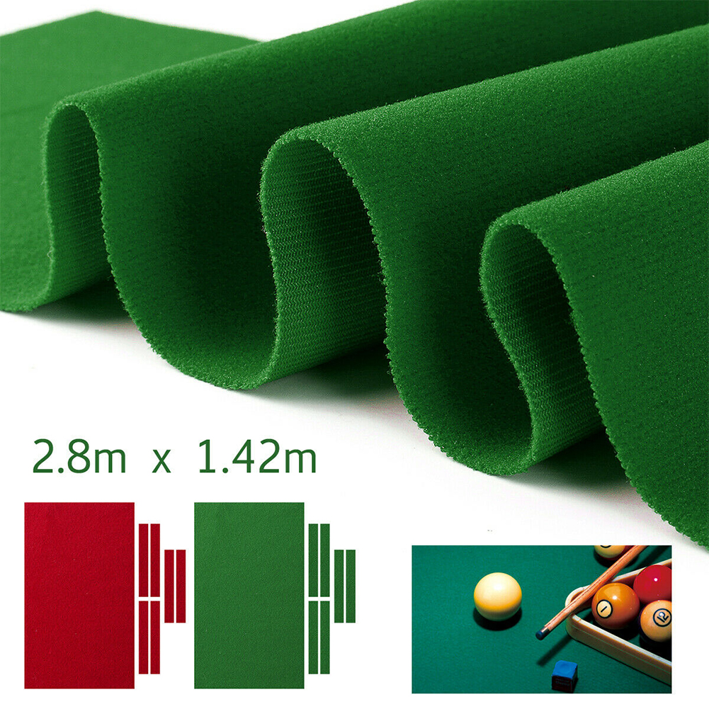 Solid Professional Anti Slip Club Chinese Style Table Cloth Indoor Nylon Bar Hotel Billiard Pool Sports Durable Accessories