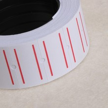 1 Roll(500 Labels) White Self Adhesive Price Label Tag Sticker Office Supplies R9UA(China)