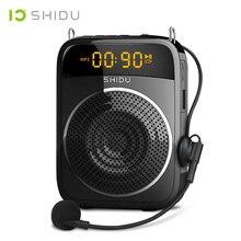 Shidu 15 Вт портативный усилитель голоса проводной микрофон