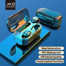 Bluetooth 5.0 True Wireless Earbuds Waterproof Bluetooth Earphone In-ear Headphones Touch