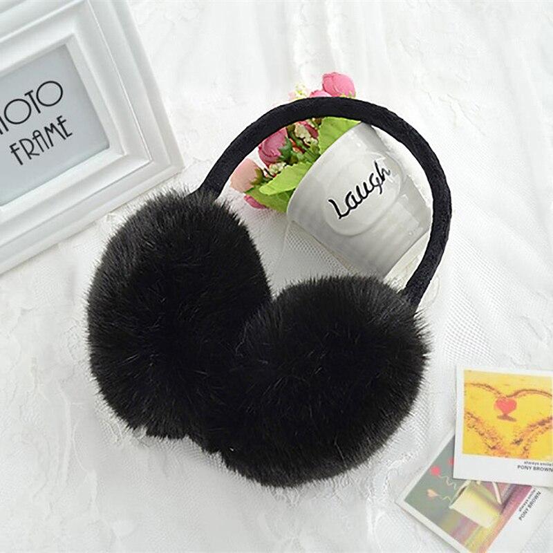 Fashion Fall Spring Rabbit Fur Earmuffs Ears Warm Essential Accessories Imitation Fur Comfortable Ears Cover