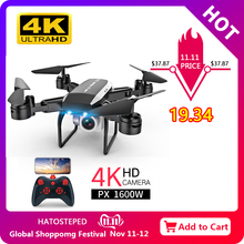 RC Drone Helicopter-Toys Aerial-Video Off-Point-Drones FPV Foldable 1080 4k Camera Kids