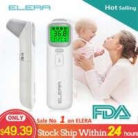 ELERA Baby Thermometer Infrarot Digital LCD Körper Messung Stirn Ohr Nicht-Kontaktieren Erwachsene Körper Fieber IR Kinder Termometro