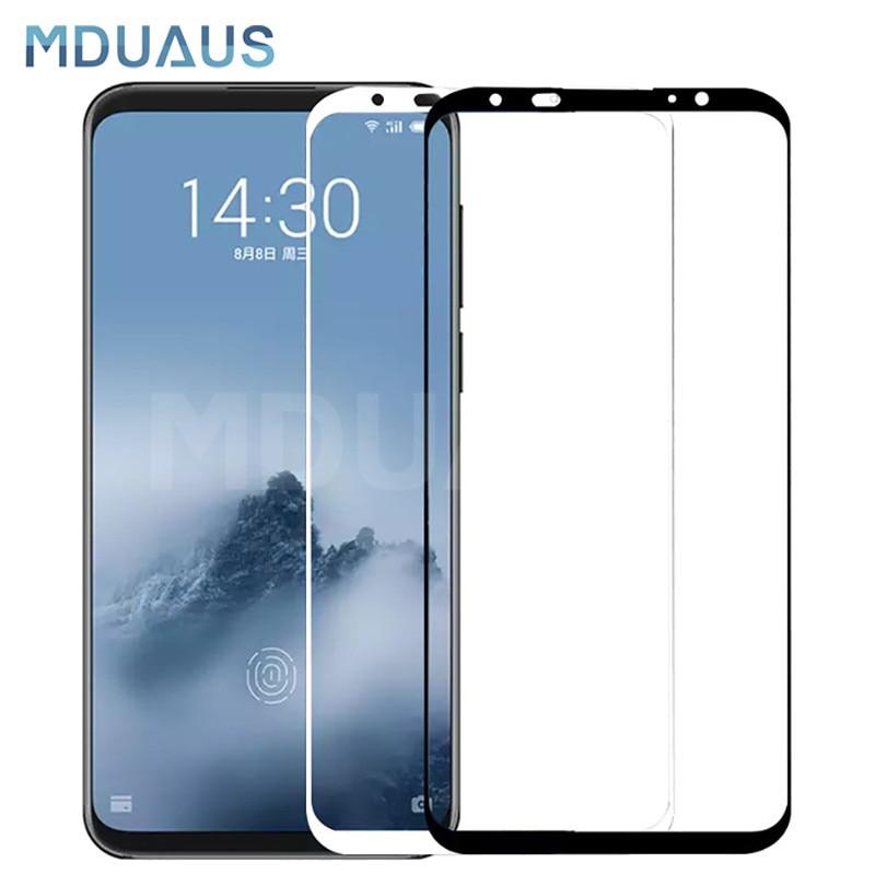 9D verre trempé pour Meizu 16 e 16S 16X Plus protecteur d'écran pour Meizu X8 Note 8 9 M8 Pro 7 Plus étui de protection en verre
