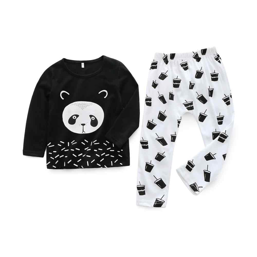 Zestaw ubrań dla dziewczynek chłopiec noworodka garnitur moda wiosna mały strój odzież dla niemowląt Menino Conjunto Infantil Festa dres