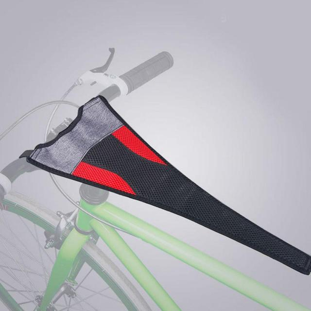 Indoor MTB Bike Trainer Frame Bicycle Sweat Cover Guard Net Catcher Absorbs Sweat Strap Protection Turbo Trainer Elastic Belt 1