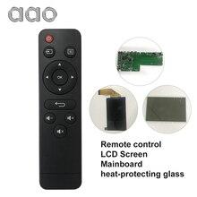 Aao yg400 gm60 yg410 yg500 yg510 yg220 yg300 yg310 controle remoto lâmpada led placa de energia placa mãe projetor acessórios