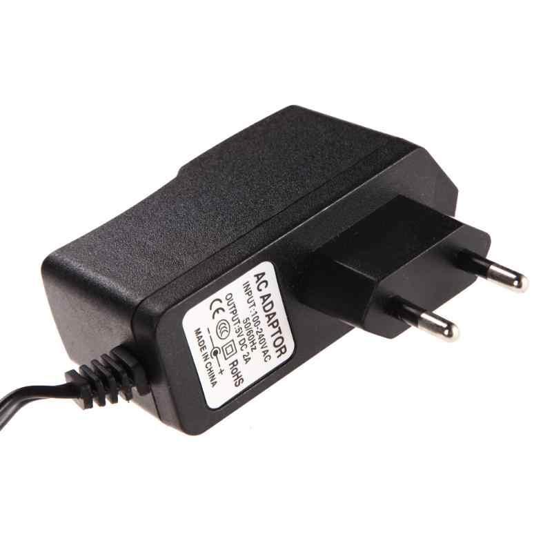 AC 100-240V Konverter Adapter DC 5,5mm x 2,5 MM 5V 2A 2000mA Adapter Ladegerät EU stecker Schaltnetzteil Elektrische Ausrüstung