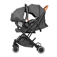 Newborn baby pram wheelbarrow lightweight carseat stroller 3