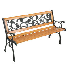 49in Открытый Патио крыльцо садовая скамья стул Палуба из твердой