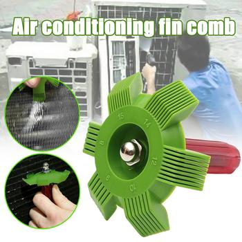A/C Radiator Condenser Evaporator Auto Cooling System Repair Tools Fin Straightener Coil Comb Plastic Handle Car Accessories image