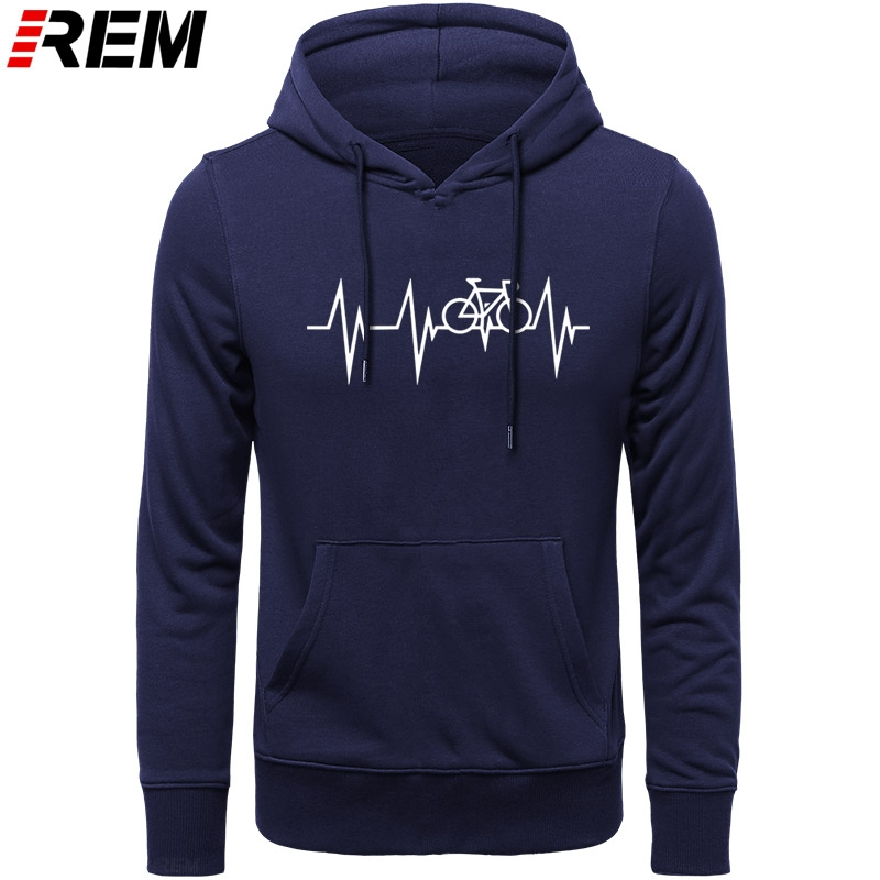 Funny Mountain Bikes MTB Cycle Heartbeat T-shirt For Men Plus Size Cotton Team Tee Shirt Camiseta Hoodies, Sweatshirts