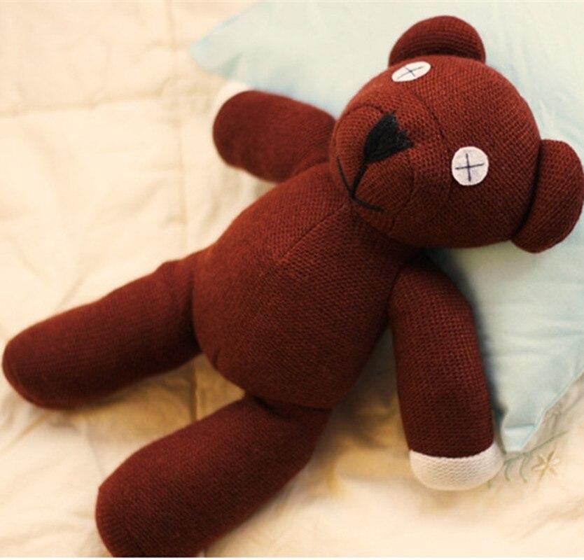 Hot Sale 23/35cm Genuine Mr.Bean Plush Teddy Bear Toys Cute Staffed Toys Dolls Creative Gifts for Kids Birthday