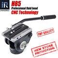 INNOREL CNC технология H85 видео жидкая головка 10 кг нагрузка гидравлического демпфирования Регулируемый для DSLR штатив монопод для наблюдения за ...