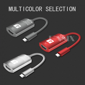 Image 5 - USB C כדי HDMI מתאם כבל 4K 30Hz סוג c כדי HDMI עבור huawei mate 20 macBook פרו 2021 ipad פרו hdmi נקבה ל usb סוג c כבל