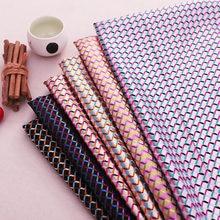 Material de costura de seda de imitação de brocado de tecido xadrez para tecidos de vestuário de designer para costuras de patchotrabalho cheongsam e quimono