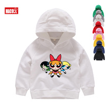 Spring Children Boys White Sweatshirts Kids Pure Color Hoodies Cotton Girl Pullover Tops Single Layer Outerwear Clothes 1-15 Yrs