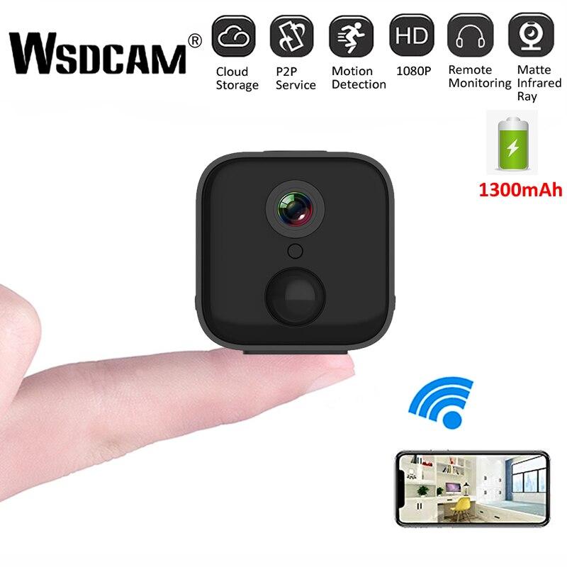 A21 HD Mini WiFi caméra 1080P IR Vision nocturne maison sécurité IP caméra CCTV détection de mouvement bébé moniteur sans fil DVR caméscopes