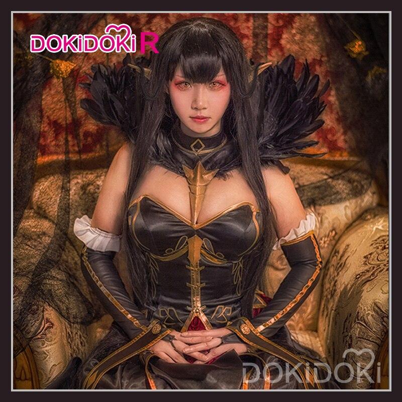DokiDoki-R Fate/Grand Order Semiramis Cosplay Costume Game Fate Cosplay Semiramis Women Dress Halloween Costume