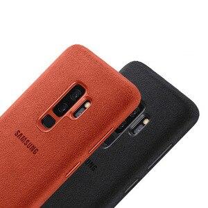 Image 5 - SAMSUNG Original Anti knock Offizielle Telefon Fall Für Samsung Galaxy S9 G9600 S9 + S9 Plus S9Plus G9650 Alcantara telefon Abdeckung Fall