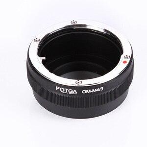 Image 5 - Переходное кольцо Fotga для объектива Olympus OM, классическое ручное крепление для объектива Micro M4/3, Аксессуары для DSLR камеры