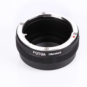 Image 5 - Fotga 렌즈 어댑터 마운트 올림푸스 om 클래식 수동 렌즈 마이크로 m4/3 마운트 dslr 카메라 액세서리 용 스텝 업 링