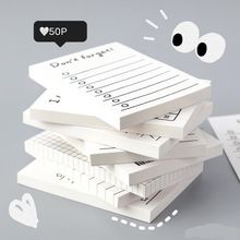 Notepad Ideas Lovely Plan Book Punch Student Learning Record Stationery Tearable Student Memo Pad Not sticky planner